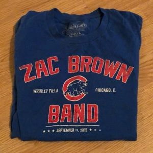 Chicago Cubs/Zac Brown band Shirt